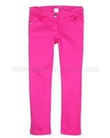 Deux par Deux Basic Denim Pants Pants Very Berry