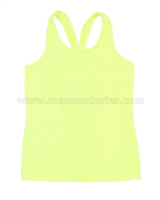 Deux par Deux Tank Top Yellow