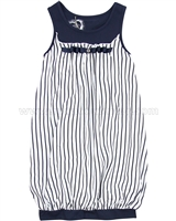 Deux par Deux Balloon Shaped Dress Jolie Daisy Navy