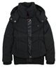 Dress Like Flo Short Puffer Coat Black
