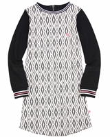 Dress Like Flo Jacquard Knit Dress