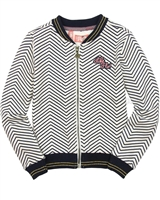 Dress Like Flo Zigzag Sweatshirt