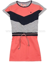 Dress Like Flo Zigzag Look Sweatshirt Dress