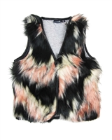 Dress Like Flo Faux Fur Vest