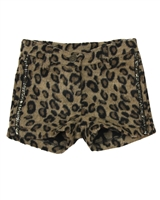 Dress Like Flo Felt Panther Shorts