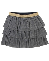 Dress Like Flo Tiered Mesh Skirt