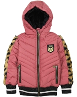 Dress Like Flo Short Quilted Puffer Coat