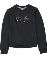 Dress Like Flo Logo Sweatshirt in Anthracite