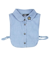 Dress Like Flo Removable Chambray Collar