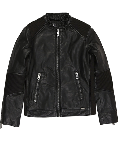 75c041850 DIESEL Boys  Pleather Jacket Jerex