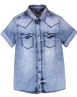 Diesel Boys Chambray Shirt Cirix