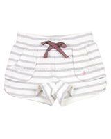 Dress Like Flo Striped Sweat Shorts Brenda