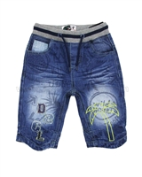 Desigual Denim Shorts Indigo