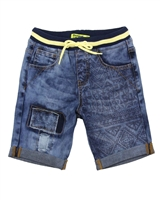 Desigual Boys Denim Shorts Grey