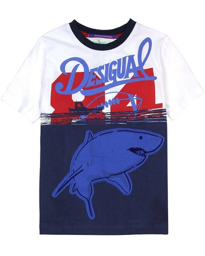 Desigual Boys T-shirt Angel
