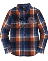 Desigual Boys Plaid Shirt Yuca