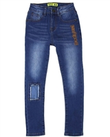 Desigual Boys Denim Pants Cyan in Blue
