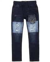 Desigual Boys Denim Pants Grey
