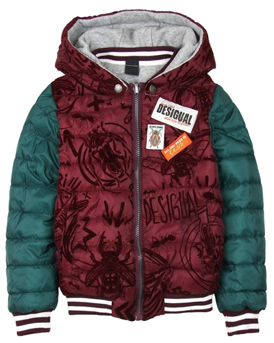 Desigual Boys Coat Skyline