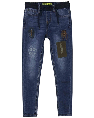 Desigual Boys Denim Pants Indigo