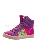 Desigual Hi-top Sneakers Mini Luxor Purple