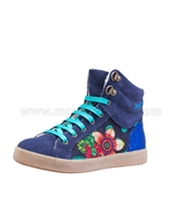 Desigual Hi-top Sneakers Mini Luxor Blue