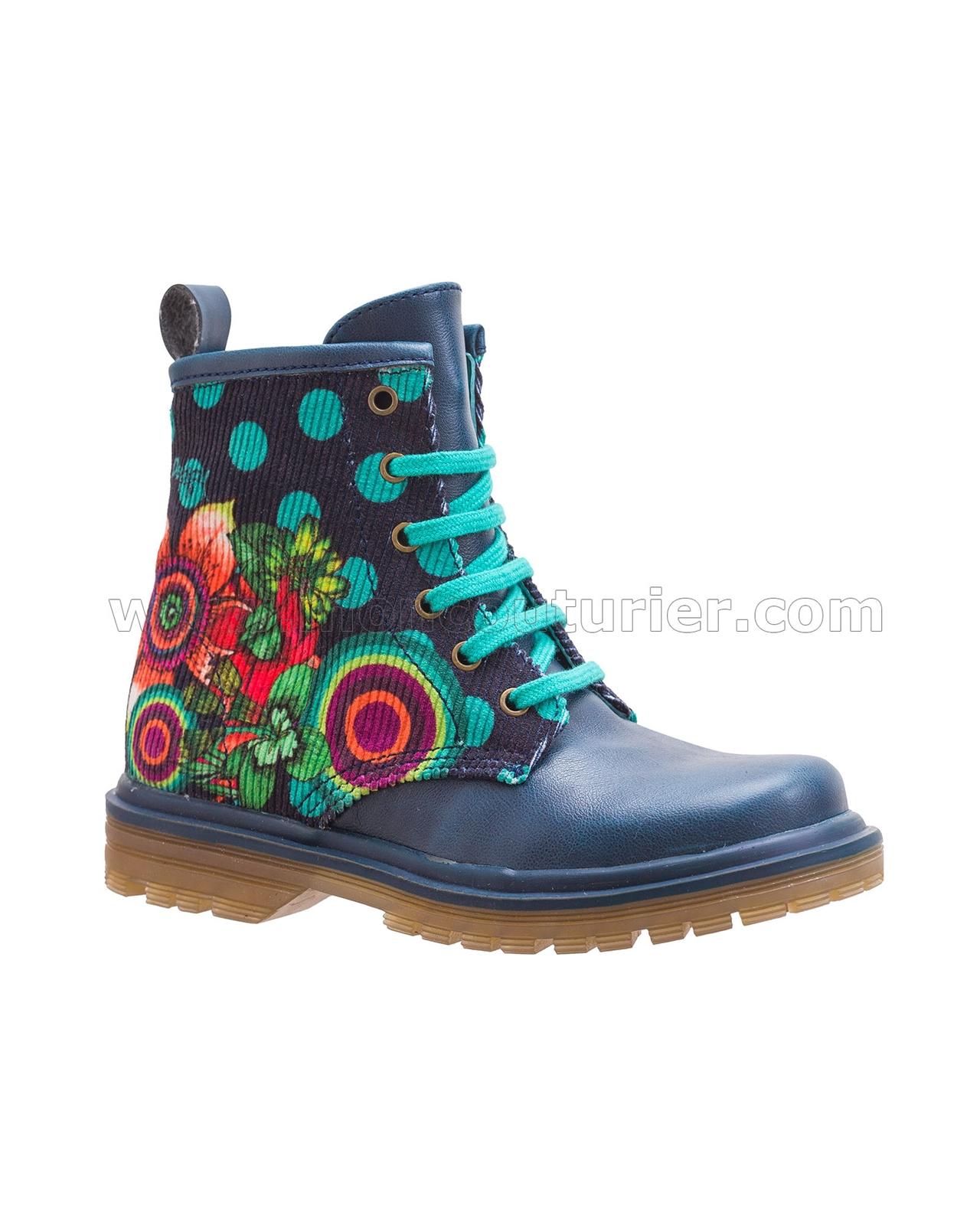 Half Boots Mini Martina Blue
