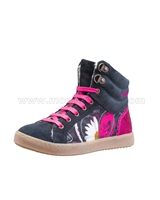 Desigual Hi-top Sneakers Mini Luxor Black
