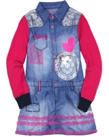 Desigual Denim Dress Bamako