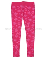 Desigual Leggings Cross Fushia