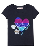 Desigual T-shirt Katrina in Navy