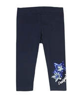 Desigual Leggings Floral in Navy