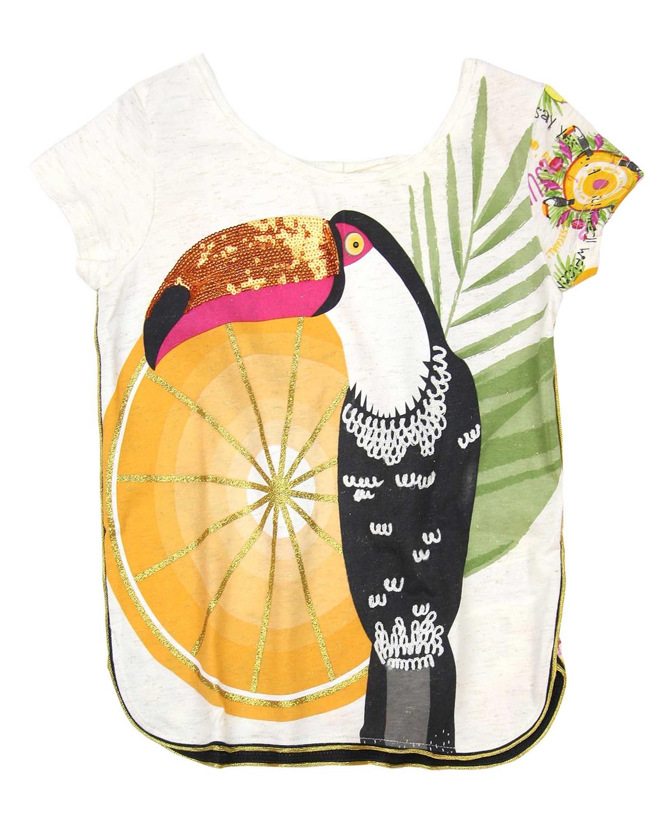 Nono Girls Leggings with Bird Print Sizes 6-16