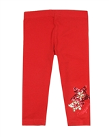 Desigual Leggings Floral in Red
