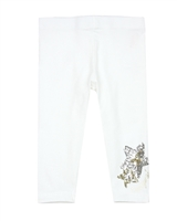 Desigual Leggings Floral in White