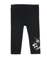 Desigual Leggings Floral in Black