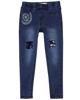 Desigual Denim Pants Pubill in Blue