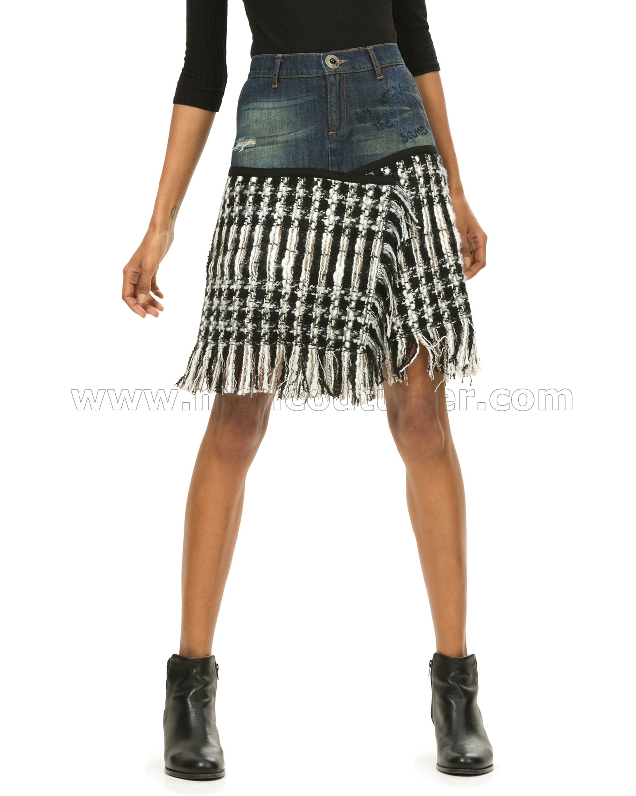 a9e6d2ccd5045 Desigual Womens  Skirt Celia Larger Photo Email A Friend