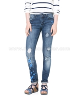 Desigual Denim Pants Irene