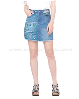 Desigual Women's Denim Skirt Segovia