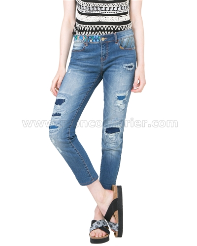 Desigual Denim Pants Irina