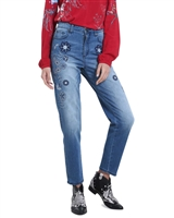 Desigual Women's Denim Pants Constance