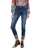 Desigual Women's Denim Pants Pearl