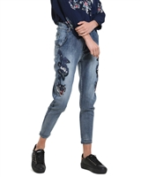 Desigual Women's Denim Pants Amy