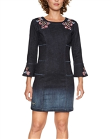 Desigual Women's Denim Dress Laura