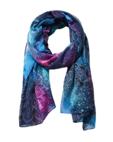 Desigual Women's Scarf Spray Dots