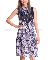 Desigual Womens' Dress Etnico
