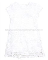 Eliane et Lena Toddler Girl's Dress Lait