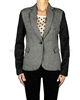 Eliane et Lena Women's Tweed Blazer Dodge