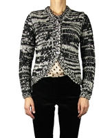 Eliane et Lena Women's Knit Cardigan Plymouth
